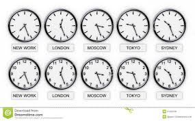 Multiple world clocks