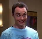 Sheldon smiing